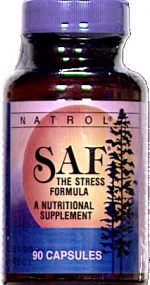 Natrol Saf Stress And Anxiety Formula - 90 Capsules