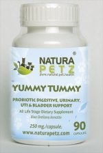 Natura Petz ANNA1 Yummy Tummy - All Life Stages - 90 Capsules - 250 mg per capsule
