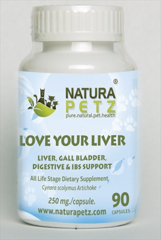 Natura Petz ARTI1 Love Your Liver - All Life Stages - 90 capsules - 250 mg per capsule