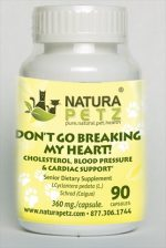 Natura Petz CAIG1 Don not Go Breaking My Heart - Senior - 90 capsules - 360 mg per capsule
