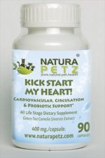 Natura Petz GRET1 Kick Start My Heart - All Life Stages - 90 capsules - 400 mg per capsule