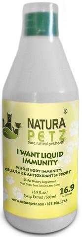 Natura Petz HEPAE2 Hepa Protect Liquid Extract - Senior