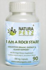 Natura Petz MACA90 I AM A Rock Star - All Life Stages - 90 Capsules - 500 mg per capsule