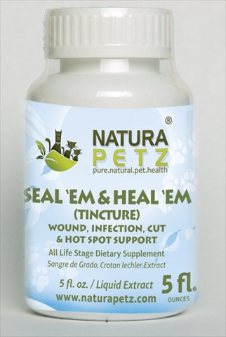 Natura Petz SANE1 Seal Em and Heal EM Tincture - All Life Stages - 5 fl oz