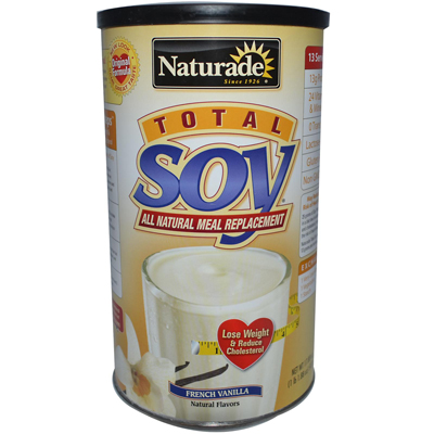 Naturade 0919860 Total Soy Meal Replacement French Vanilla - 18 oz