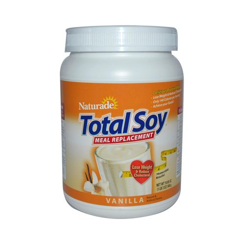 Naturade 0950667 Total Soy Meal Replacement Vanilla - 19.05 oz
