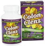 Natural Balance 0689828 Colon Clenz - 60 Vegetable Capsules