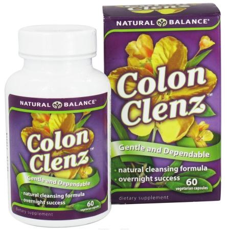 Natural Balance 0689828 Colon Clenz - 60 Vegetable Capsules