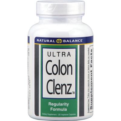 Natural Balance 0691220 Ultra Colon Clenz - 120 Vegetarian Capsules
