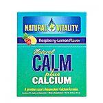 Natural Vitality Natural Calm Plus Calcium Raspberry Lemon - 30 Packets - SPu438622