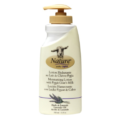 Nature By Canus 1549740 Goats Milk Nature Lavender Oil Lotion 11.8 oz - 350 ml