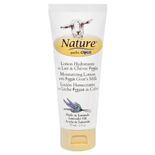 Nature By Canus 1558246 11.8 oz Goats Milk Nature Lavender Oil Lotion 75 ml