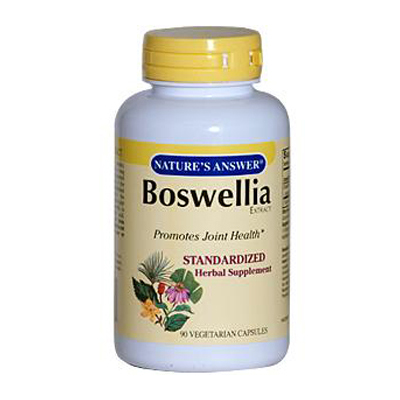 NatureS Answer Boswellia Extract - 90 Vegetarian Capsules