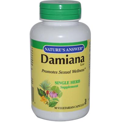NatureS Answer Damiana Leaf - 90 Vegetarian Capsules