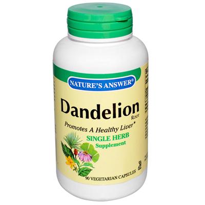 NatureS Answer Dandelion Root - 90 Vegetarian Capsules