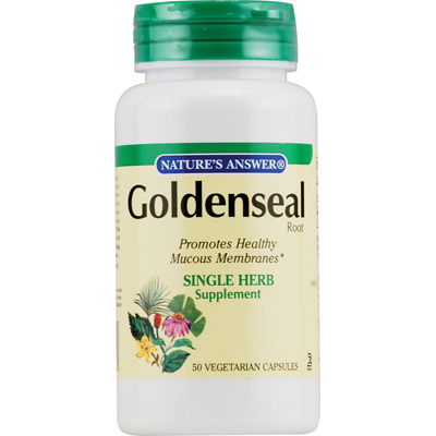 NatureS Answer Goldenseal Root - 50 Vegetarian Capsules