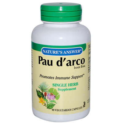 NatureS Answer Pau DArco Inner Bark - 90 Capsules