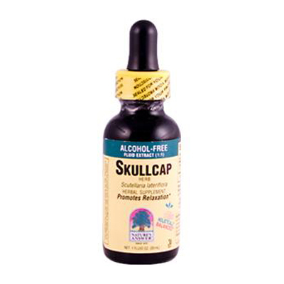 NatureS Answer Skullcap Herb Alcohol Free - 1 Fl Oz - SPu109280