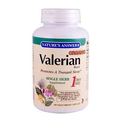 NatureS Answer Valerian Root - 180 Vegetarian Capsules