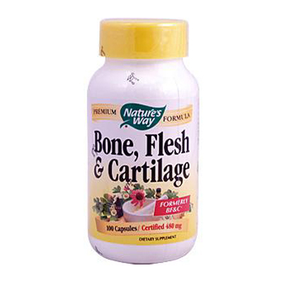 NatureS Way Bone Flesh And Cartilage - 100 Capsules