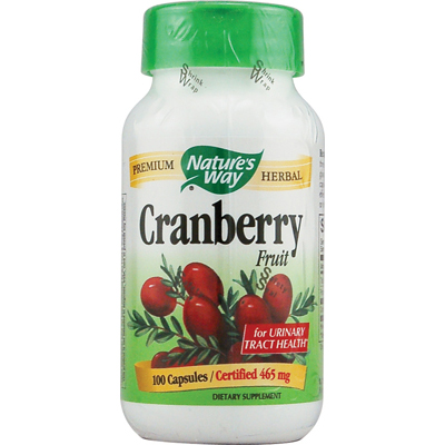 NatureS Way Cranberry Fruit - 100 Capsules