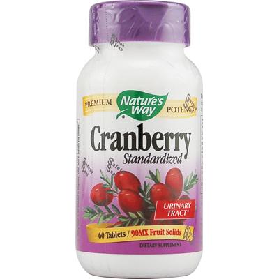 NatureS Way Cranberry Standardized - 60 Tablets