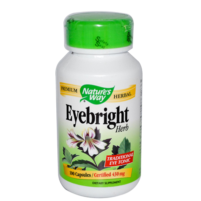 NatureS Way Eyebright Herb - 100 Capsules