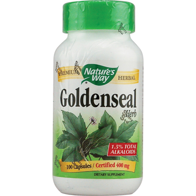 NatureS Way Goldenseal Herb - 100 Capsules