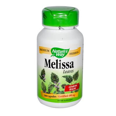 NatureS Way Melissa Leaves - 100 Capsules