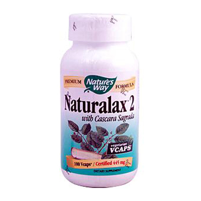 NatureS Way Naturalax 2 With Cascara Sagrada - 100 Vcaps