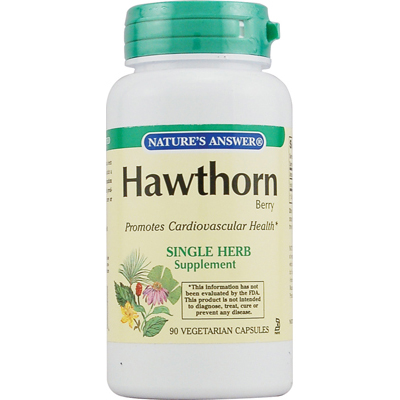 Natures Answer 0123943 Hawthorn Berry - 90 Vegetarian Capsules