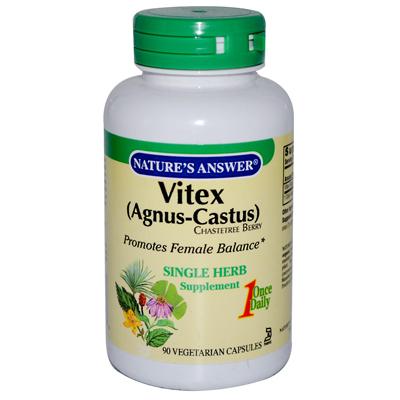 Natures Answer 0124222 Vitex Agnus-Castus Chastetree Berry - 90 Vegetarian Capsules