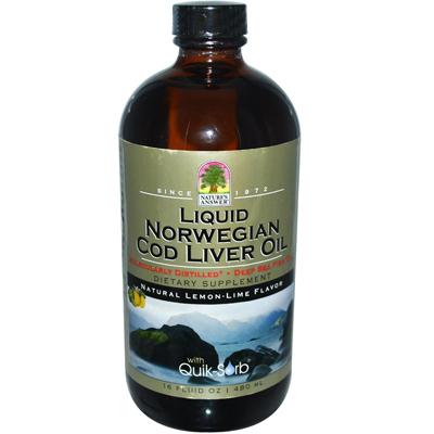 Natures Answer 0793737 Liquid Norwegian Cod Liver Oil - 16 fl oz