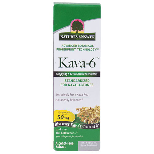 Natures Answer 1516236 Natures Answer Kava 6 Extract - Alcohol Free - 1 oz