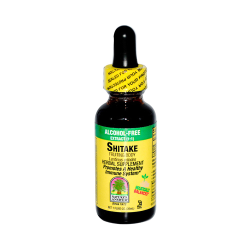 Natures Answer 302422 Natures Answer Shiitake Fruiting Body - 1 fl oz