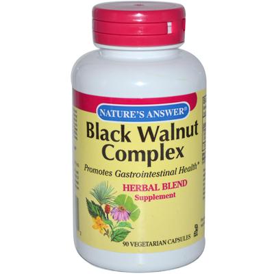 Natures Answer Black Walnut Complex - 90 Vegetarian Capsules