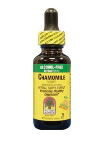 Natures Answer Chamomile Flowers Alcohol Free - 1 Oz.