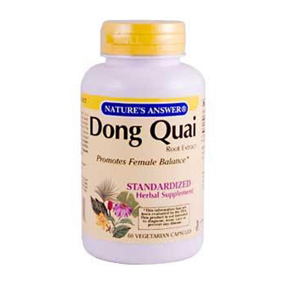 Natures Answer Dong Quai Root Extract - 60 Vegetarian Capsules