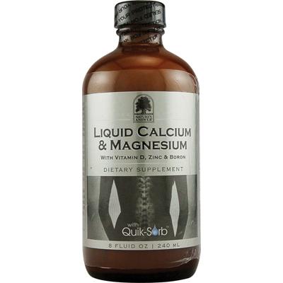 Natures Answer Liquid Calcium and Magnesium - 8 fl oz