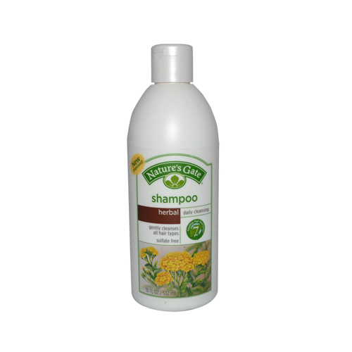 Natures Gate 0329508 Herbal Daily Cleansing Shampoo 18 fl oz