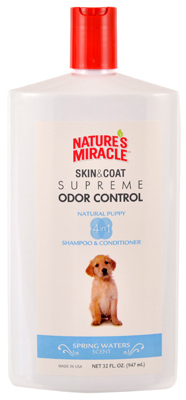 Natures Miracle NM-6097 32 oz. Puppy Oat Pet Shampoo