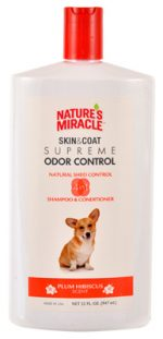 Natures Miracle NM-7001 32 oz. Skin & Coat Supreme Odor Control Shampoo