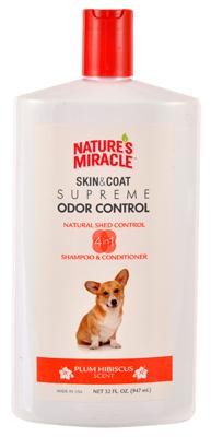 Natures Miracle NM-7001 32 oz. Skin & Coat Supreme Odor Control Shampoo