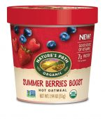 Natures Path 299755 1.94 oz Cup Summer Berries Oatmeal Pack of 12