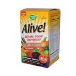 Natures Way 0168070 Alive Multi-Vitamin No Iron Added Tablets 90 Count