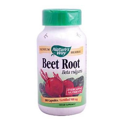 Natures Way 0371609 Beet Root Beta Vulgaris - 100 Capsules