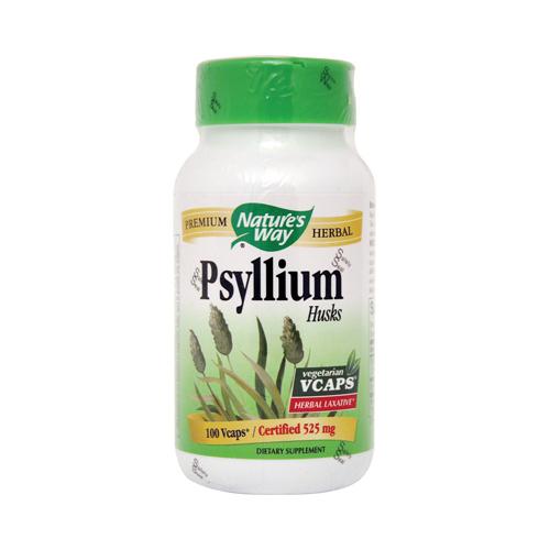 Natures Way 153262 Natures Way Psyllium Husk - 525 mg - 100 Vcaps