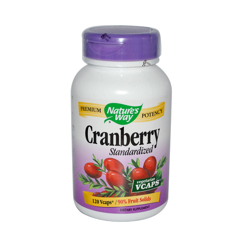 Natures Way 495895 Natures Way Cranberry Standardized - 120 Vcaps