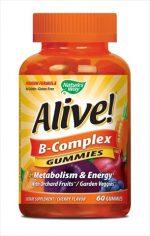 Natures Way 60 Count Alive B-Complex Gummies