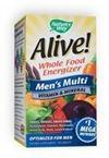 Natures Way 84290 Nature S Way Alive! Mens Multi Vitamin - 60 Tab